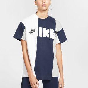 Nike X Sacai reworked shirt